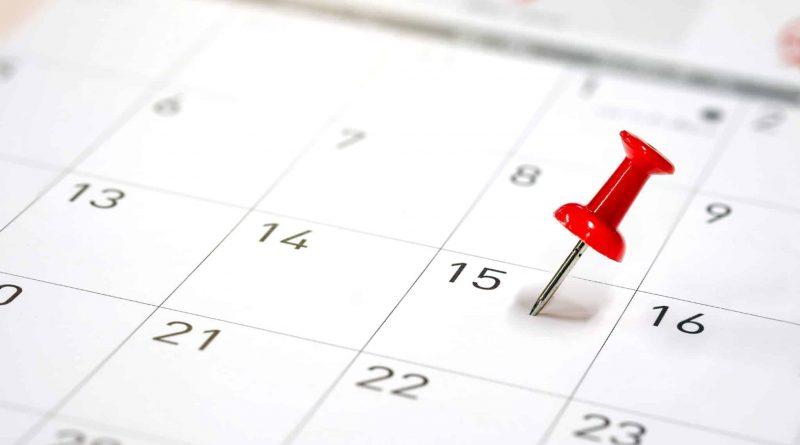 Activiteitenkalender september 2021